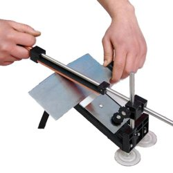Professional Kitchen Knife Sharpener System Fix-Angle 4 Stones