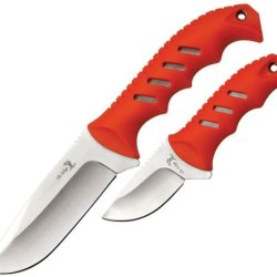 Elk Ridge Er-532Or Fixed Blade Knife Set (9.5 And 6.25-Inch Overall)