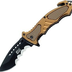 Mtech Usa Xtreme Mx-A800Tn Spring Assist Knife, 4.5-Inch Closed