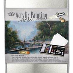 Royal & Langnickel Large Tin Acrylic Painting Art Set