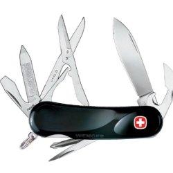 Wenger 16975 Swiss Army Evolution 16 Pocket Knife, Black