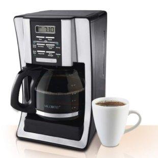 Mr. Coffee BVMC-SJX33GT 12-Cup Programmable Coffeemaker, Chrome $19.00 (reg. $39.99) jungledealsblog.com