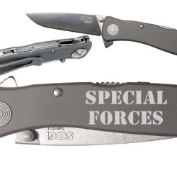 Special Forces Text 2L Custom Engraved Sog Twitch Ii Twi-8 Assisted Folding Pocket Knife By Ndz Performance