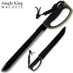 23.75 Inch Jungle King Machete Enclosed Handle - Camo Green