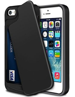 iPhone-5S-Case-iPhone-SE-CaseWollony-Slim-Fit-Hybrid-Dual-Layer-Armor-Protective-Back-Cover-iPhone-SE5S5-Wallet-Card-Slide-Case-Anti-Scratch-Shockproof-ID-Credit-Card-Slot-Holder-Bumper