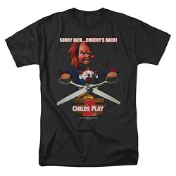 Childs Play 2 Horror Comedy Thriller Movie Chuckys Back Adult T-Shirt Tee
