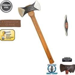 Condor Tool And Knife Thunder Bay Double Bit Cruiser Axe