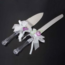 New Anniversary Sweetheart Wedding Party Cake Knife And Server Set #568