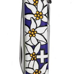 Victorinox Swiss Army Classic Edelweiss Pocket Knife (Violet)