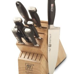 Zwilling J.A. Henckels Four Star Ii 9-Piece Knife Set With Block