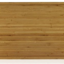 """Surpahs 3-Layer Cross-Laminated Bamboo Cutting Board (17""""X11"""", 16:9) W/ Arc Groove"""