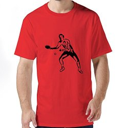 Generic Table Tennis Mens T Shirt