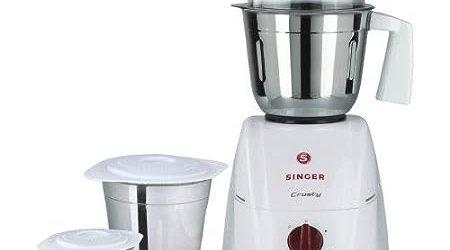 Singer Crusty 550-Watt Mixer Grinder