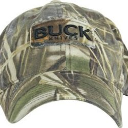 Buck Knives 89052 Max - 4 Advantage Camo Buck Logo Cap