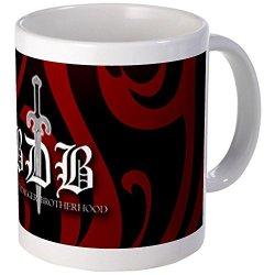 Cafepress Bdb Red Mugs - S White