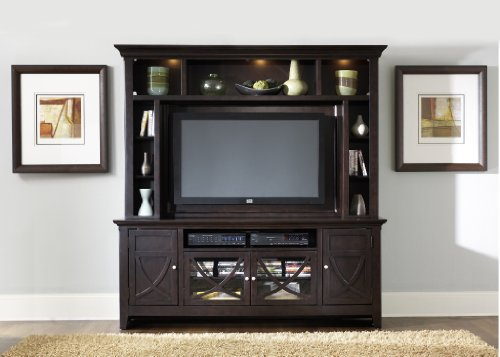 Image of Entertainment TV Stand - CLOSEOUT by Liberty - Dark Mocha Finish (955-TV00) (955-TV00)