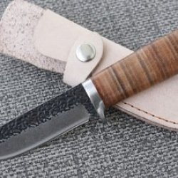 Handmade Damascus Forged Steel Sharp 0069 Knives Fixed Blade Outdoor Survival Camping Hunting Knife Tools