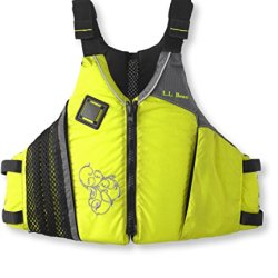 L.L.Bean Comfort Back Pfd Yellow Small / Medium