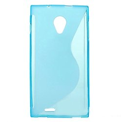 Easysmx New Arrival Silicon Case For Dg550 Anti-Knock Protective Back Case For Doogee Dagger Dg550 (Blue)