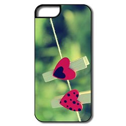 Heart Pin Iphone 5 5S Case Design Your Own Cute Cover For Iphone 5S