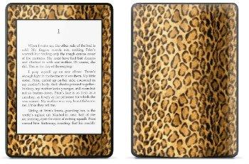 Amazon Kindle Paperwhite スキンシール アニマル ヒョウ柄 (No.252-kpw)