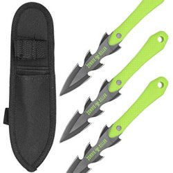 3-Pc. Zombie Killer Throwing Knives - Green