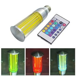 16 Kinds Of Color Of Rgb Light Lm 3 W E27 Led Candle Bulb, 180-200 (110-240 - V)