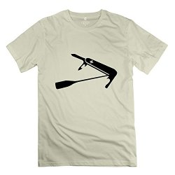 Yongth Men'S Swiss Paddle Knife 100% Cotton T-Shirt - Style Tshirts Natural Us Size Xs
