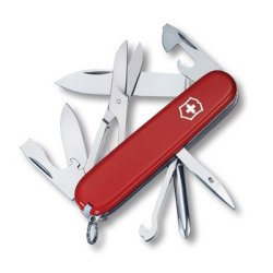Swiss Army 53341 91Mm Super Tinker Knife (Red)