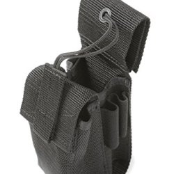 Raine Radio/Emt Combo Pouch, Black