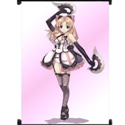 """Record Of Agarest War Game Fabric Wall Scroll Poster (16""""X24"""") Inches"""
