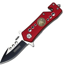 Spring Assisted Firefighter Rescue Knife