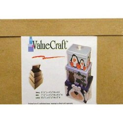 Paper Mache Medium Rectangle Box Value Pack Set Of 3 By Craft Pedlars