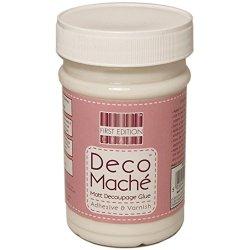 Trimcraft Deco Mache Adhesive And Varnish, 250Ml, Matte