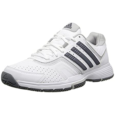 You feel at home on the court. So it makes sense that you'd want to stay comfortable with every sprint, serve, and backhand slice. Good thing you've got these durable men's tennis shoes. Features like ADIPRENE®+ foam give you extra cushioning, while ...