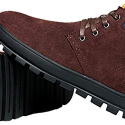 Mulinsen Winter Outdoor Casual Round Toe Shoes For Men(6.5D(M)Us,Red-Brown)