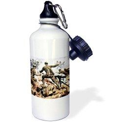 Danita Delimont - Wwi - Wwi, Italian Troops, Italy - Eu16 Pri0094 - Prisma - 21 Oz Sports Water Bottle (Wb_82153_1)