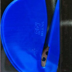 Sdi Compact And Easy 2 Pieces Per Pack Safety Blue Letter Opener