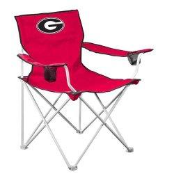 Georgia Bulldogs Ncaa Deluxe Folding Chair Georgia Bulldogs Ncaa Deluxe Folding Chair