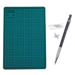 Hobby Pen Knife & Rubber Mat