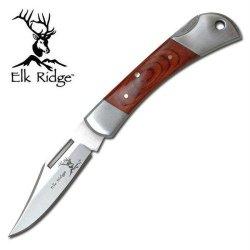 Elk Ridge Er-124W Gentleman'S Knife 3.25-Inch Closed