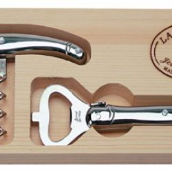 Jean Dubost Laguiole Stainless Corkscrew And Opener