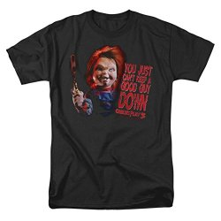 Childs Play 3 Horror Comedy Thriller Movie Good Guy Adult T-Shirt Tee