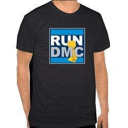 Dallas Mavericks: Run Dmc Shirt Large Black