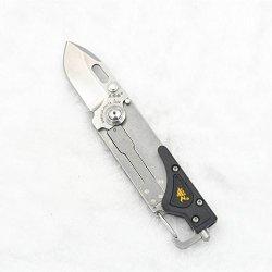 Sanrenmu Srm 6050 T4 Multi-Function Edc Tools Pocket Folding Knife W/Led Light