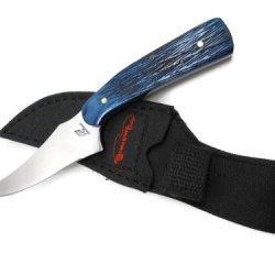 Ocoee River Skinner Knife (Blue Pick Bone)