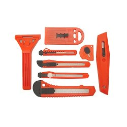 Grip 46064 8-Piece Utility Knife And Cutter Set