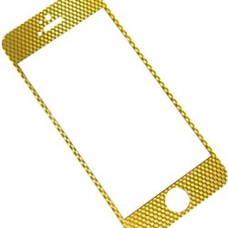 E821 Premium 3D Tempered Glass Screen Protector For Iphone 5/Iphone 5S/Iphone 5C - (Hd,9H,0.33Mm,2.5D) - Ultra Clear,Anti Scratch,Bubble Free,Reduce Fingerprint,Easy Install (Gold)
