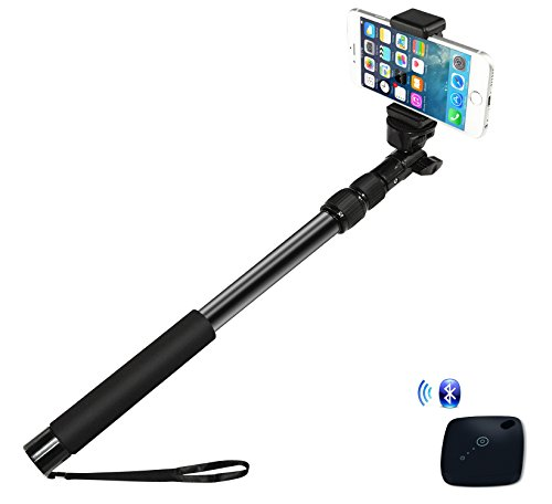 ipow all aluminum 16 39 39 34 39 39 pro selfie stick waterproof telescoping extension monopod pole with. Black Bedroom Furniture Sets. Home Design Ideas