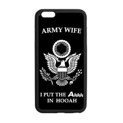 """Jdsitem Unique Proud Army Wife Design Case Cover Sleeve Protector For Phone Iphone 6 Plus 5.5"""" (Laser Technology)"""